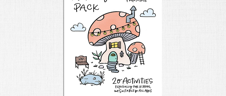 Indoor Doings Kids Activities Pack Printable Download