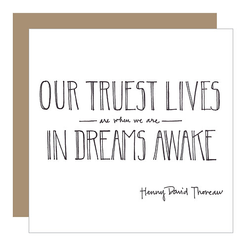 In Dreams Awake Card (6 singles)