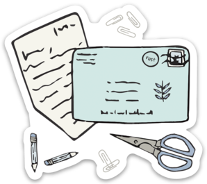 Letterologist Sticker (6 singles)