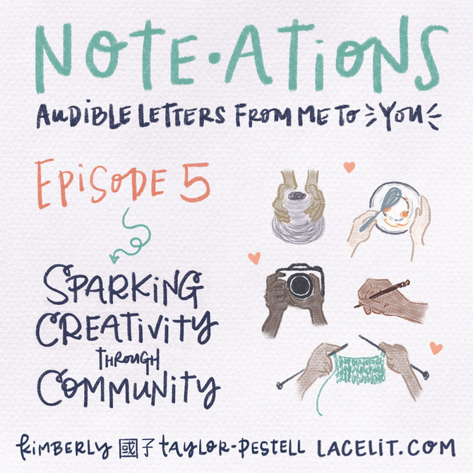 note・ations   05 sparking creativity through community