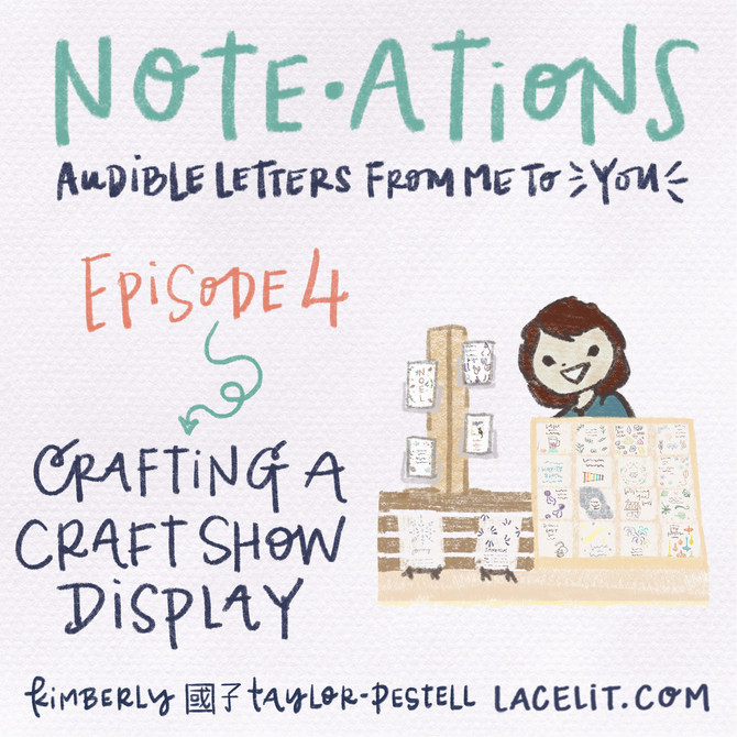 note・ations | 04 crafting a craft show display