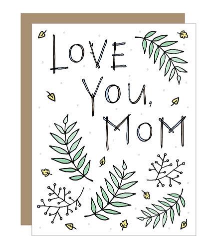 Love You, Mom Card (6 singles)