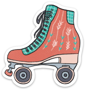 Little Skate Sticker (6 singles)