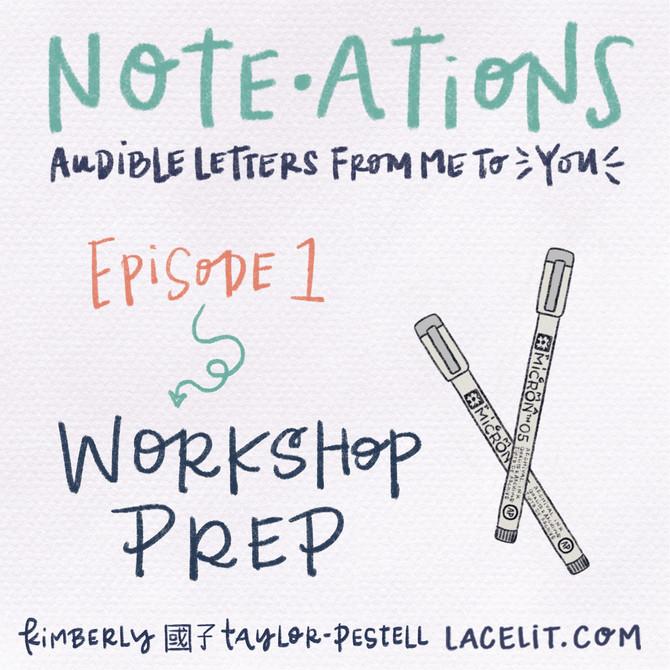 note・ations | 01 workshop prep