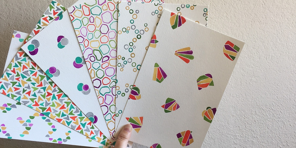 Freehand Watercolor Patterns, Part II: Deep Dive Series (1)