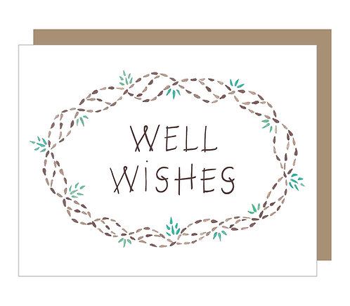 Well Wishes Card (6 singles)