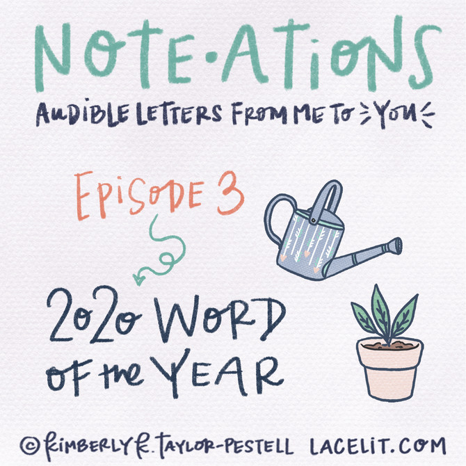 note・ations   03 My 2020 Word of the Year