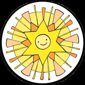Little Sun Sticker (6 singles)