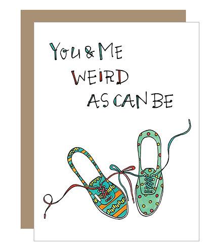 Weird As Can Be Card (6 singles)