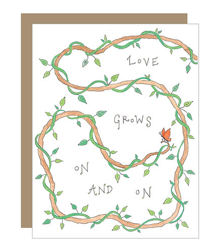 Love Grows On and On Card (6 singles)