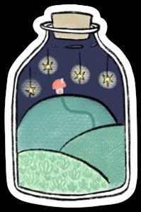 Little World Sticker (6 singles)