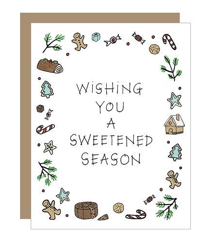 Sweetened Season Card (6 singles)