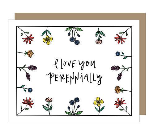 I Love You, Perennially Card (6 singles)