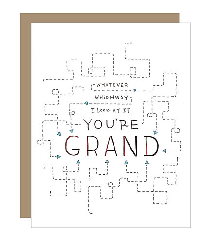 You're Grand Card (6 singles)