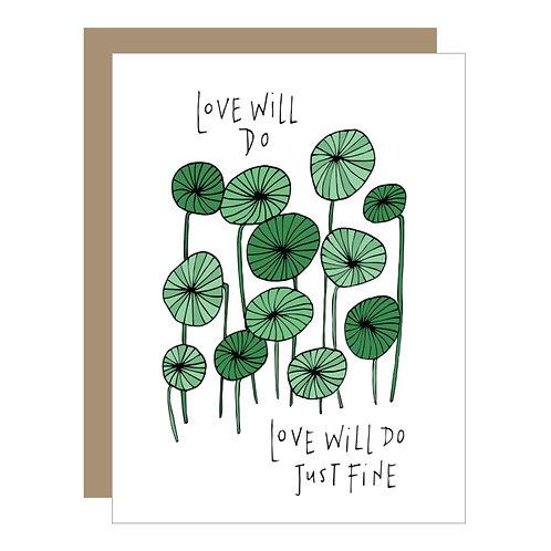 Love Will Do Card (6 singles)