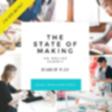 Graphic: The State of Making - An Online Summit, March 9-24, ahas.info/som17rec