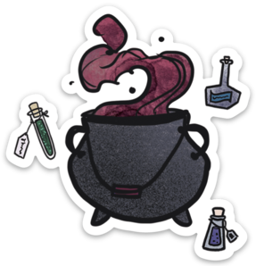 Potions Master Sticker (6 singles)