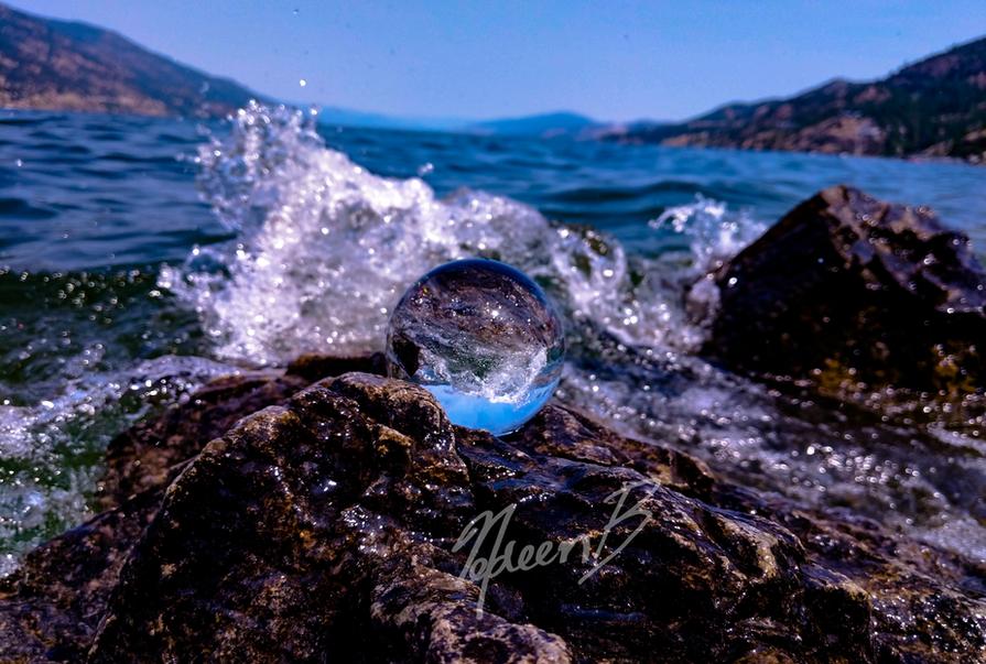 Lensball Splash