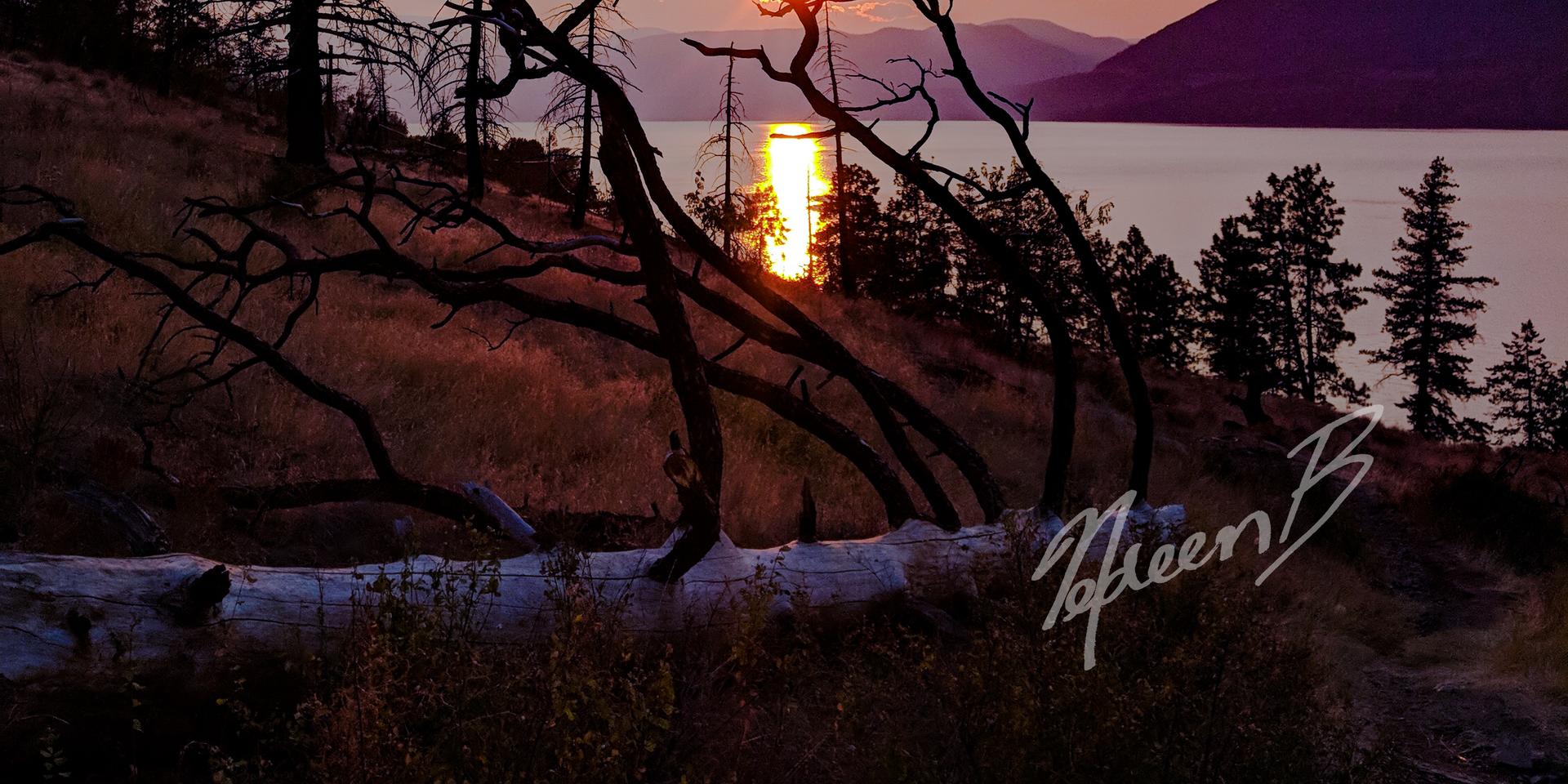 Okanagan Mountain Park Sunset