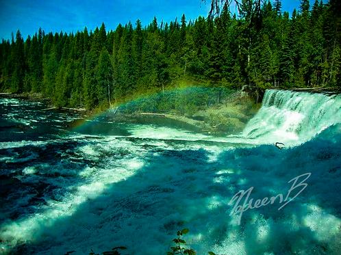 Dawson Falls Rainbow