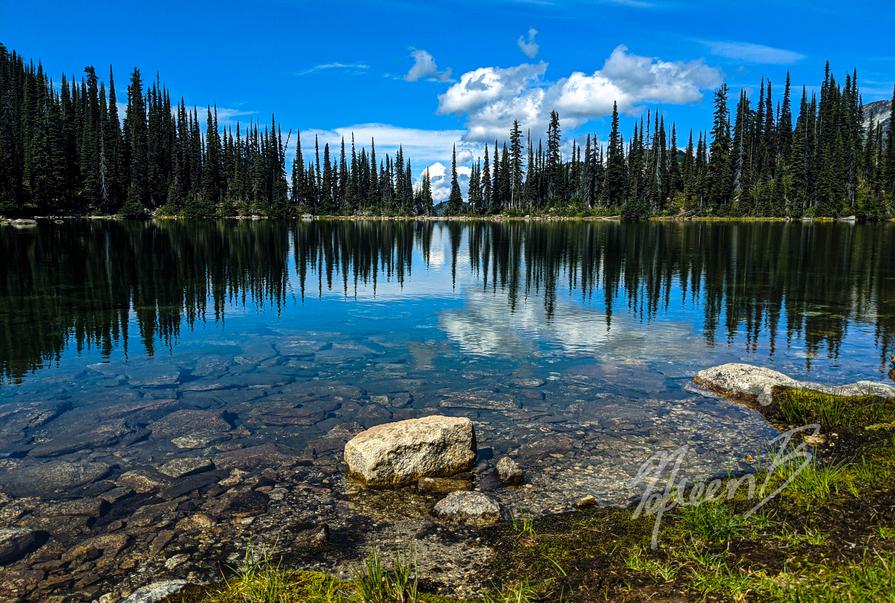 Eva Lake Reflection