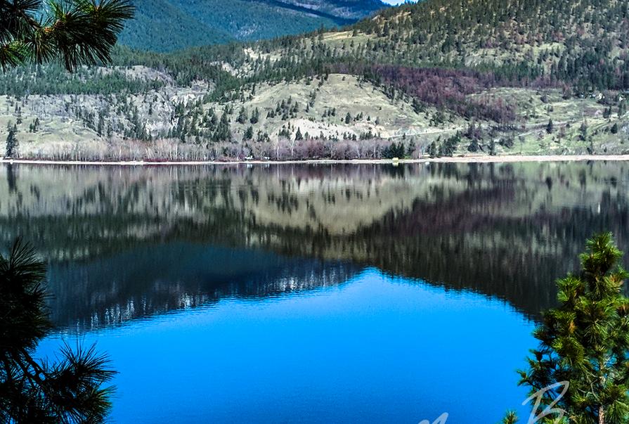 Okanagan Lake Reflection