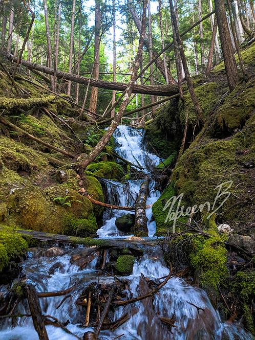 Mable Lake Waterfall