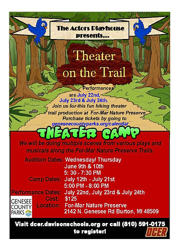 Theater on the trail camp flyer update.j