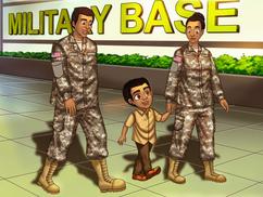 Mom & Dad: Mom U. S. Army Chemical Officer, Dad U.S. Army Engineer Officer