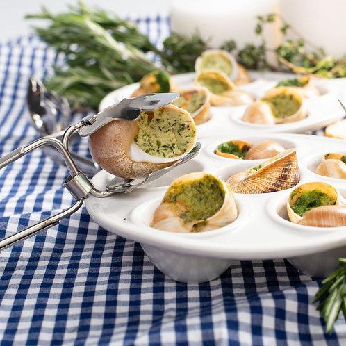Улитки с творожным сыром и красным перцем (12 шт.)