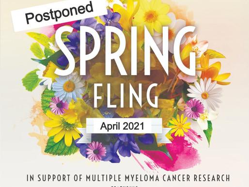 Spring Fling Event Postponed to April 2021