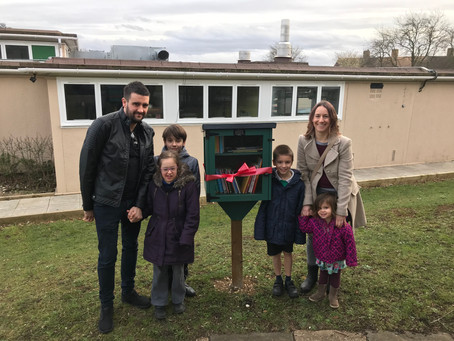 Our Little Libraries are officially open!