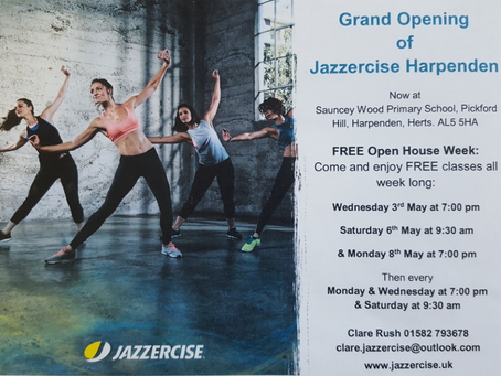 Jazzercise is coming to Sauncey Wood