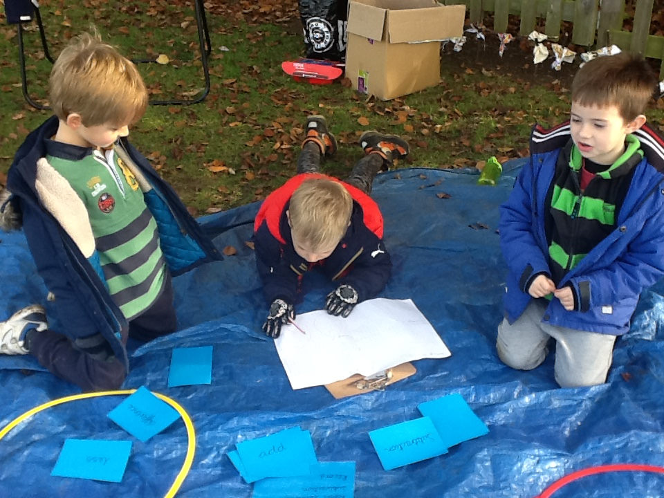 Maths- outdoor learning