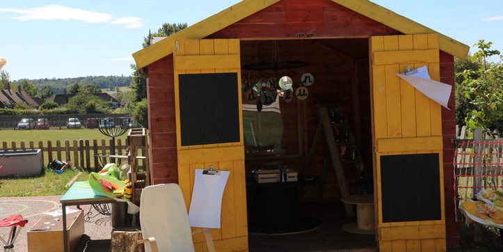 Writing/ creative shed
