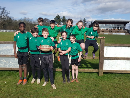 Tag Rugby- St Albans and Harpenden Partnership