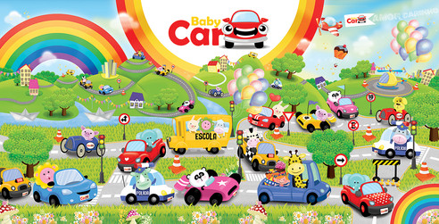 PAINEL Baby Car