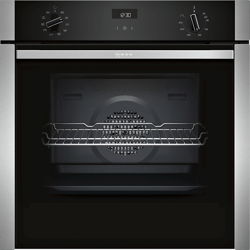 NEFF N50, BUILT-IN OVEN, STAINLESS STEEL B3ACE4HN0B