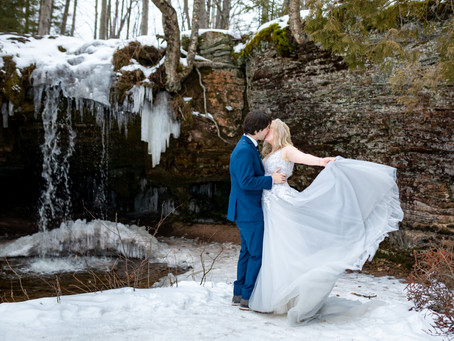 Adventurous Elopement Ideas within an hour of Marquette MI