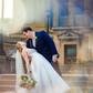 wedding dance dip crystal prism