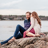 odiorne state park engagement photography rye seacoast nh new hampshire wedding