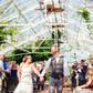 greenhouse wedding walk down aisle