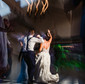 shutter drag wedding reception dancing motion blur
