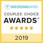 weddingwire couples' choice award 2019