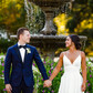 wedding photography fountain nature