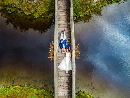 9 Perfect Places for Drone Wedding Photography