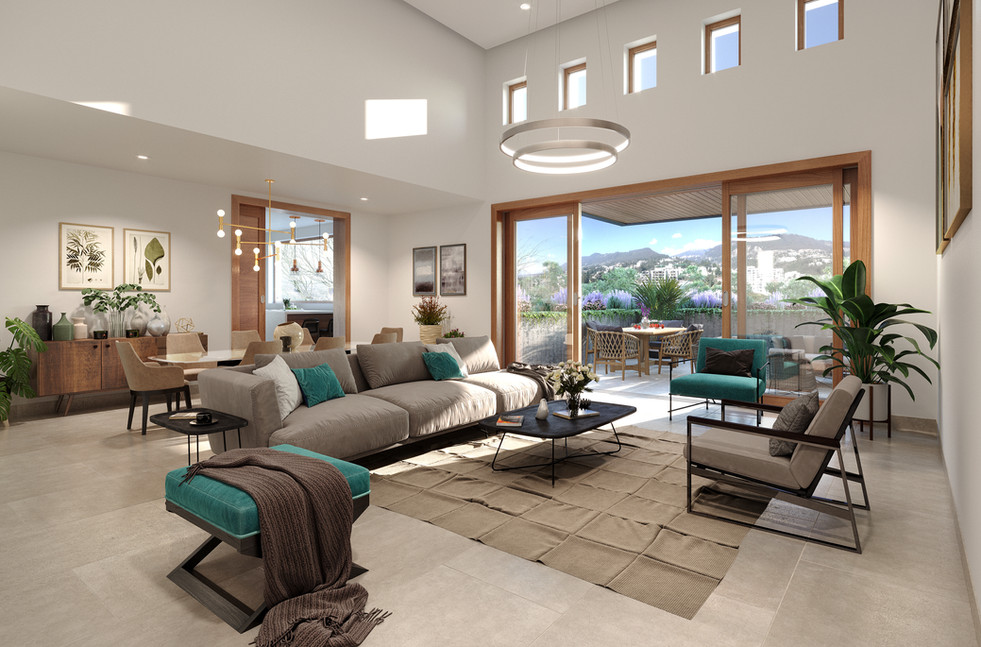 Edificio Atria_Apartamento 301_Render Fi