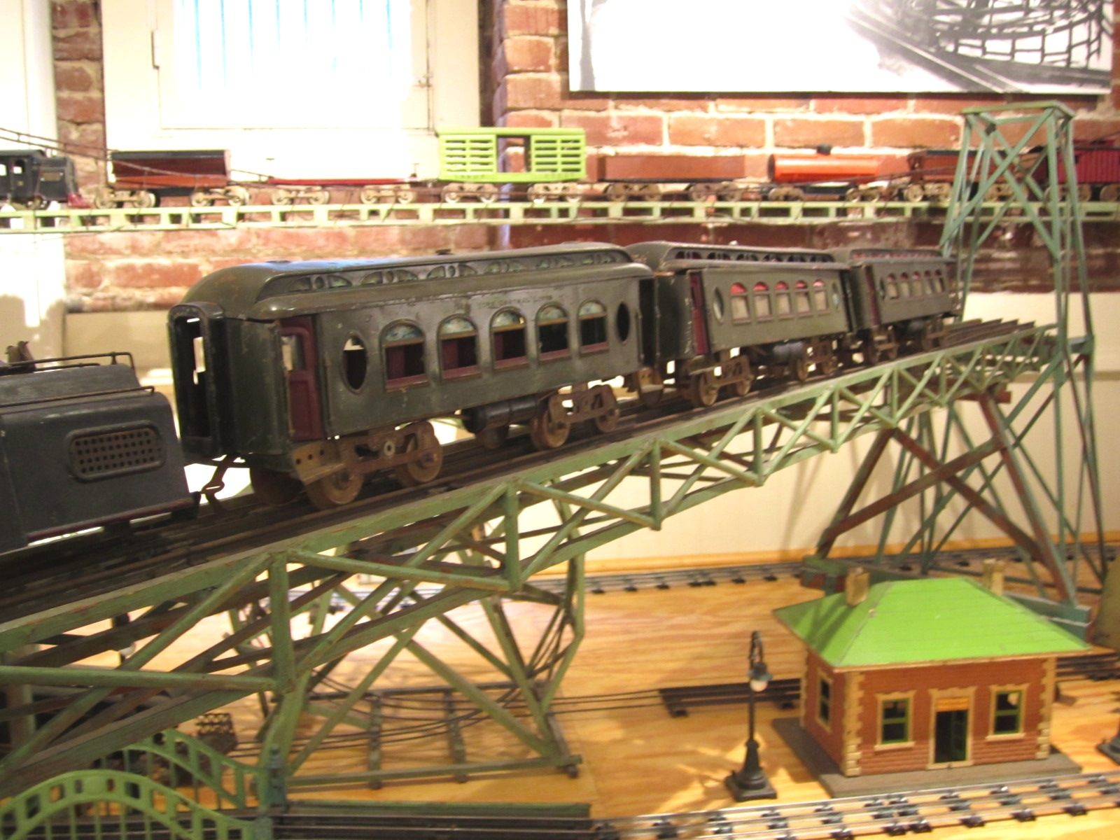 Train set built by Morton Vrang