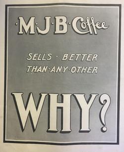 MJB Coffee Ad c. 1920s