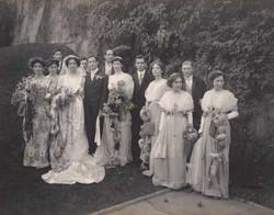 Alice and Samuel wedding, c. 1909